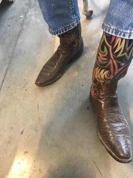 Jack's boots