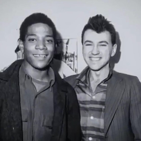 Jean-Michel Basquiat and Diego: Smart Casual, ca. 1979. Photographer unknown.