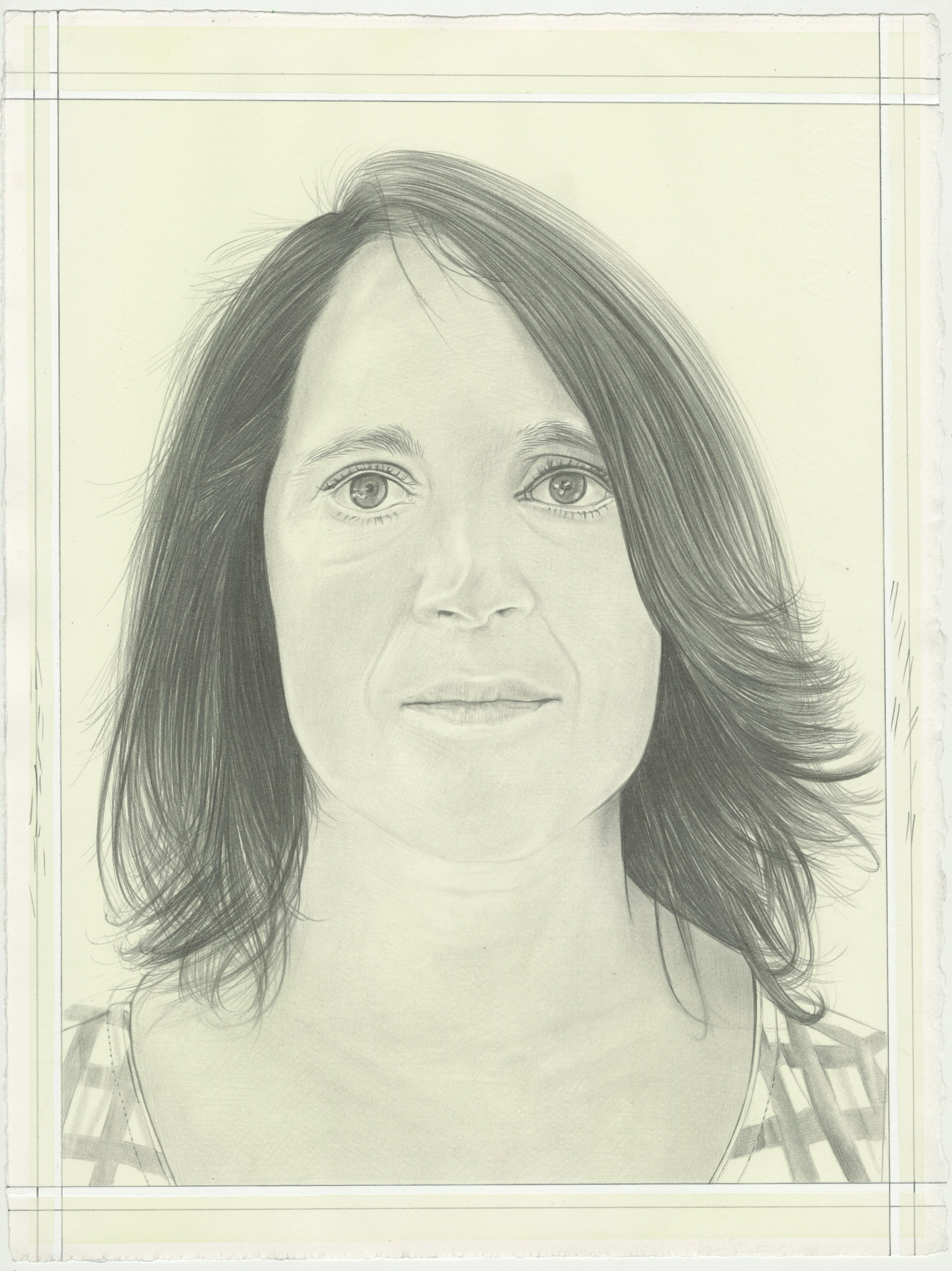Francesca Pietropaolo. Pencil on Paper by Phong H. Bui.