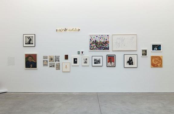 Installation view: <em>Get Lifted</em>, Karma, New York, 2021. Courtesy Karma, New York.