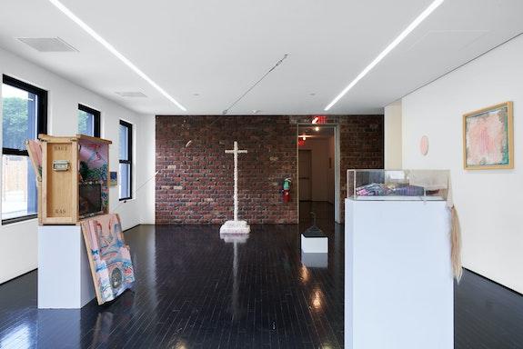 Installation view: <em>Paul Thek: Interior / Landscape</em>, The Watermill Center, New York, 2021. © Martyna Szczesna. Courtesy The Watermill Center.