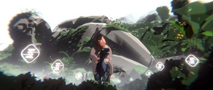 Ian Cheng, 2021 FCA grantee, <em>Life After BOB: The Chalice Study</em>, live animation, 48min, color, sound, 2021. Courtesy the artist.