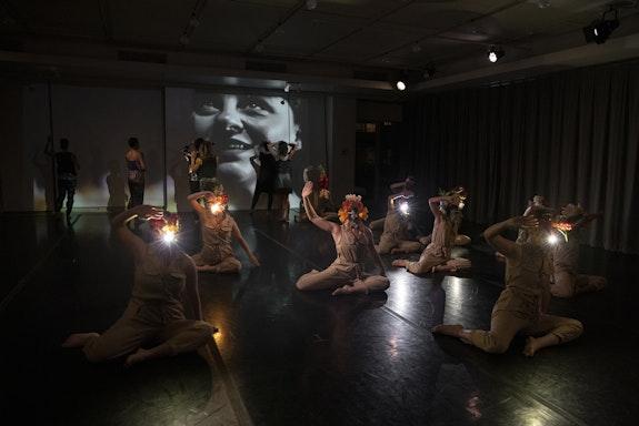 Collen Thomas's <em>Light and Desire</em> at New York Live Arts. Photo: Maria Baranova.