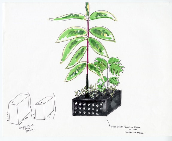 Danielle Dean, <em>Preparatory drawings for Amazon (Proxy)</em> (2021). Performa Commission for the Performa 2021 Biennial. Image courtesy the artist.