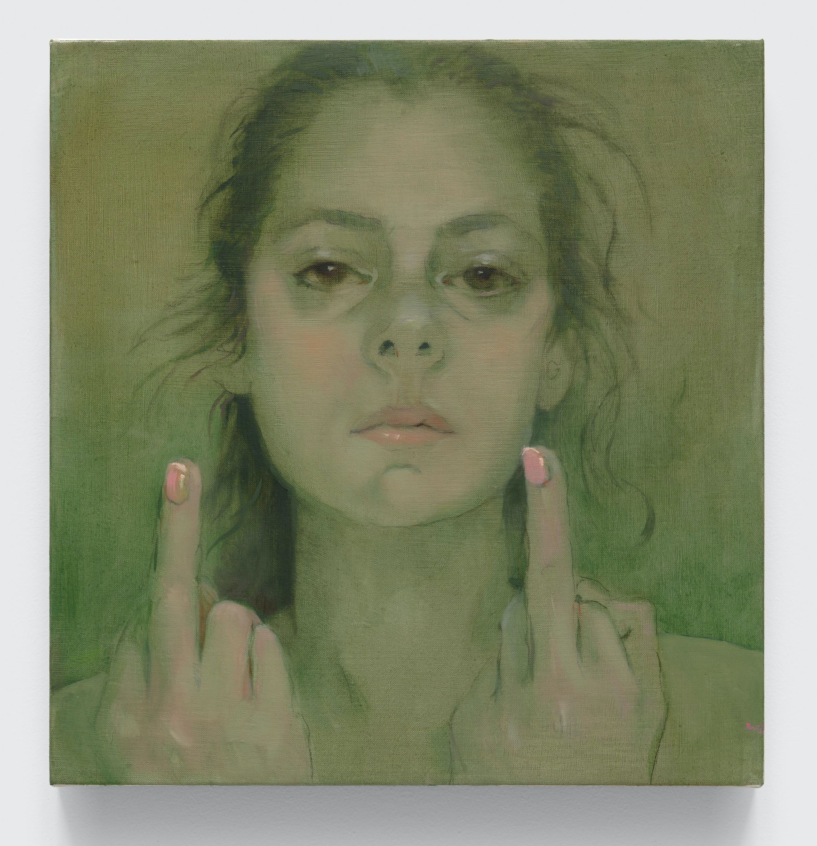 Lisa Yuskavage, <em>The Fuck You Painting</em>, 2020. © Lisa Yuskavage. Courtesy the artist and David Zwirner.