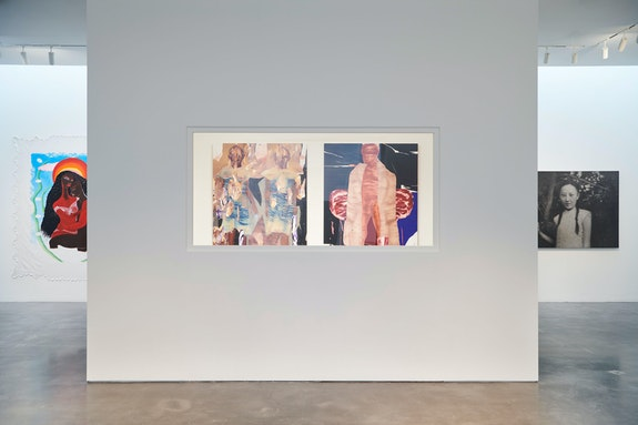 Installation view: <em>Convergent Evolutions: The Conscious of Body Work</em>, Pace Gallery, New York, 2021. Courtesy Pace Gallery.
