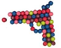 Skittles® gun by Amelia Hennighausen.