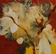 "David Geiser, ""Branch"" (2003–2007). Mixed media on board."
