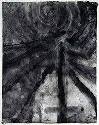 """""""Notes from the Loggia XII,"""" (2005). Ink and tempera on paper. 17 3/8 x 13 5/8 in."""