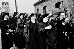 Nuns at Auschwitz. Photo by Bob Richman.