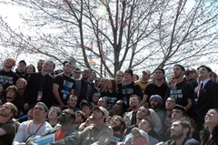 IVAW members at Winter Soldier event. Photo by Joe Kennedy