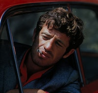 Scene from <i>Pierrot Le Fou.</i>