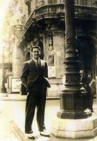 Vincent Livelli in Havana, 1941.