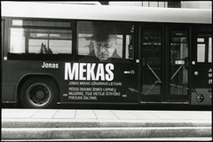 A local bus in Vilnius.