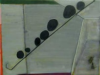Brenda Goodman, &#147;Untitled (14),&#148; (2007), oil on paper, 15 x 20 inches.<i>Courtesy of Paul Kotula Projects, Detroit.</i>