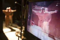 On the set of <i>Standard Operating Procedure</i>. Photo by Nubar Alexanian &copy;2007 Max Ave Productions Courtesy. Sony Pictures Classics. All Rights Reserved.