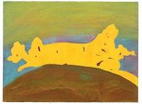 "Thomas Nozkowski, ""untitled (Q-14)"" (2002). Oil on paper, 22"