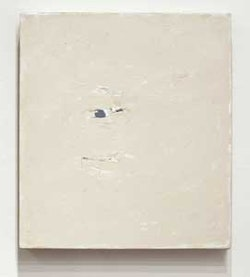 "Stephen Rosenthal, ""Ochre IV, 9.06"" (2006),  oil on canvas, 19-3/8 x 17-3/8"