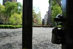 Outside Gramercy Park. Photos by Nadia Chaudhury.