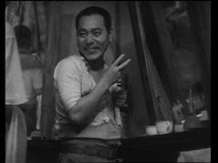 In <i>Passing Fancy</i>, Takeshi Sakamoto as Kihachi. Photo courtesy of the Criterion Collection.