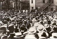 Emma Goldman at Union Square. <i>Photo courtesy Google Images</i>