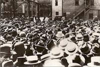 Emma Goldman at Union Square. <i>Photo courtesy Google Images</i>