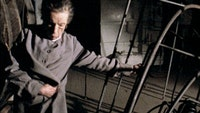 Louise Bourgeois in the documentary film <i>Louise Bourgeois: The Spider, The Mistress and The Tangerine.</i> Photo courtesy of Art Kaleidoscope Foundation.