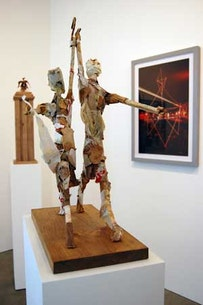 Installation view from Bruce High Quality: The Retrospective (2008).  Courtesy of Susan Inglett Gallery, N.Y.