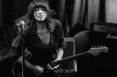 Lydia Lunch performing at the Knitting Factory.  Photo provided by Amy Belgan.