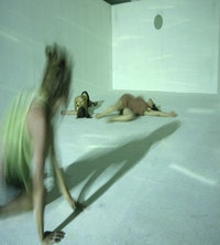 <i>Pure. Dancers: Jenny Hipscher, Sarah Wright, Dana Ten-Broeck. Photo by Pat Berret </i>