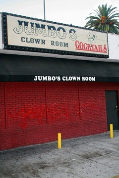 Jumbo's Clown Room, Hollywood. <I>Photos by Kenneth Dolin.</I>