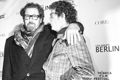 Berlin director Julian Schnabel and Lou Reed at the 2008 Tribeca Film Festival. © tribecafilm.com
