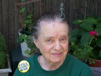 Marie Ponsot.  Photo by Jean Gallagher.