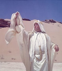 <i>The hero against the landscape, </i>Lawrence of Arabia <i>(1962).</i>