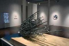<i>View of the instllation,</i> Manifest Destination<i> at Ronald Feldman Gallery. Courtesy of the artist and Ronald Feldman Gallery.</i>