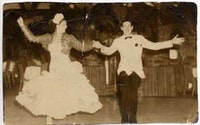 <i>Gloria Cook and Vincent Livelli, Rumba Casino, 1938.</i>