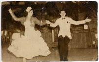 <i>Gloria Cook and Vincent Livelli, Rumba Casino, 1938.</i>