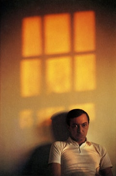 Dan Budnik. Photograph of Jasper Johns, 340 Riverside Drive apartment, New York, 1964. Courtesy of Dan Budnik.