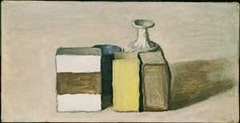"Giorgio Morandi, ""Still Life"", (1953). Oil on canvas. 8 x 16 in. Washington, D.C., The Phillips Collection. Copyright © Giorgio Morandi by SIAE 2008."