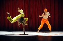 The Brooklyn Academy of Music presents Bill T. Jones/ Arnie Zane Dance Company performing
