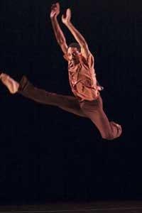 Garth Fagan Dance-<i>Phone Tag, Thanks, & Things</i>. Photo by Basil Childers.