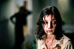 Lina Leandersson as Eli, above,  in <i>Let the Right One In</i> © EFTI.