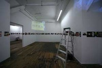 Lutz Bacher:  ODO. Installation view. Courtesy Ratio 3