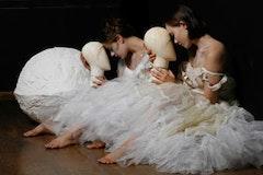 Buglisi Dance Theatre, performing Wild Mannequins & Wing Walkers (World Premiere) Photo (c) Kristin Lodoen Linder.