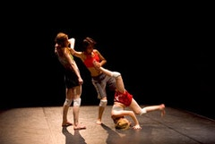 Deganit Shemy & Company, Arena. Pictured L-R: Denisa Musilova, Savina Theodorou, Robin Brown. Photo by Anthony Collins