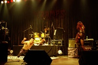 The Cramps live. All photos © Rossa Cole