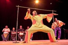 Euston James, Trinidadian Limbo. © 2009 Etienne Frossard