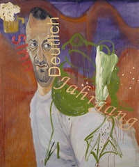 Martin Kippenberger, (Untitled) from the series Fred the Frog (1990). Oil on canvas, 94 1/2 x 78 3/4 in. Collection of Audrey M. Irmas, Los Angeles, © Estate Martin Kippenberger, Galerie Gisela Capitain, Cologne.