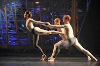 Cunningham dancers. Credit: Stephanie Berger.