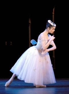 Natalia Osipova in La Sylphide. Credit: Marc Haegman.